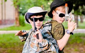 Детский лагерь Робинзонада. Лагерь Дети шпионов