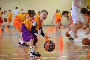 """Детский лагерь Баскетбольный лагерь """"Стремление Jogel"""""""