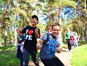 Детский лагерь Городской языковой лагерь PE Camp City