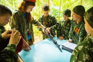 Детский лагерь Робинзонада. Курс молодого бойца. Полевые учения