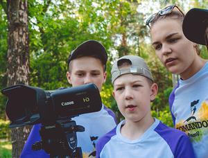 Детский лагерь Командор. Media блогер лагерь