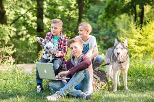 Детский лагерь Онлайн лагерь IT Шаг