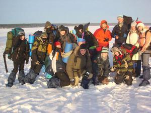 """Детский лагерь Зимний туристический лагерь """"Валдайская робинзонада. Made in Ice"""""""