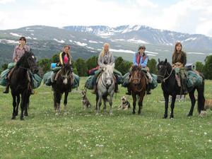 Детский лагерь Туристический походный лагерь Altai Spirits