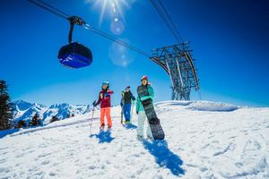 Детский лагерь Командор. Горные лыжи и сноуборд